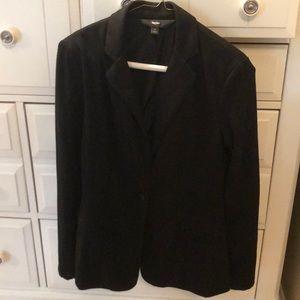 Black blazer jacket, size small